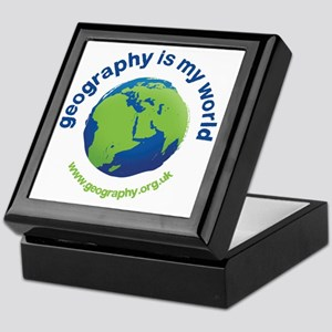 GeographyIsMyWorld Keepsake Box